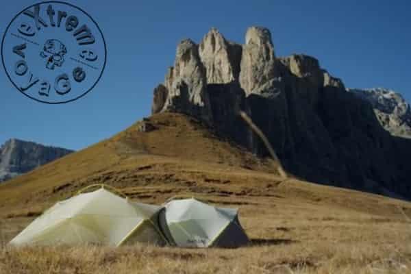 Легкие палатки Salewa Litetrek выдержат ветер 90 км-ч