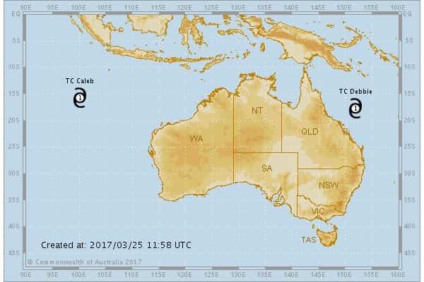 Тропические циклоны атаковали Австралию + видео