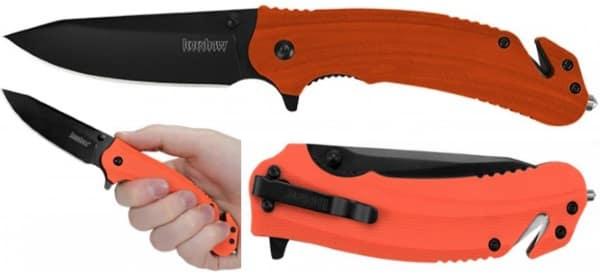 Складной аварийно-спасательный нож для ЧС Barricade