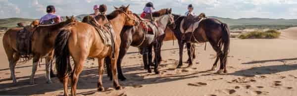 Nomadic Journeys – конный тур в стиле монгольских наездников
