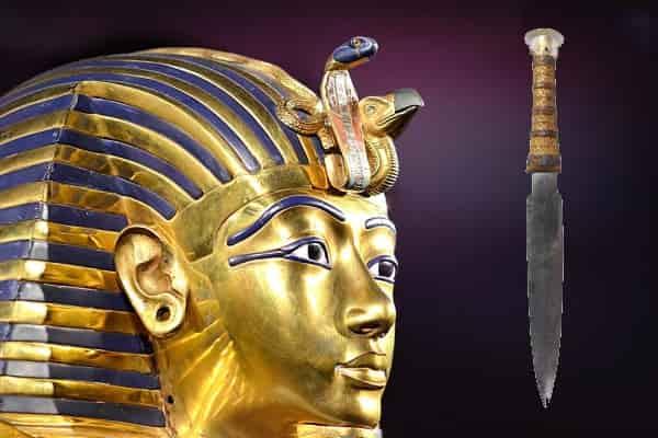 3300-летний боевой кинжал Тутанхамона - гость из космоса