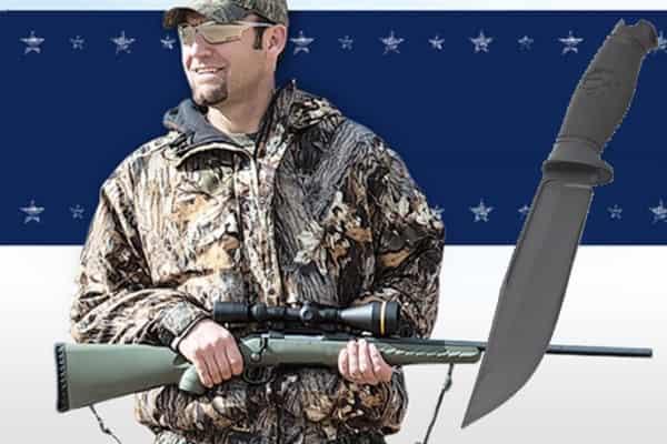 Охотничий нож Muzzle-Brake под винтовку Ruger (видео)