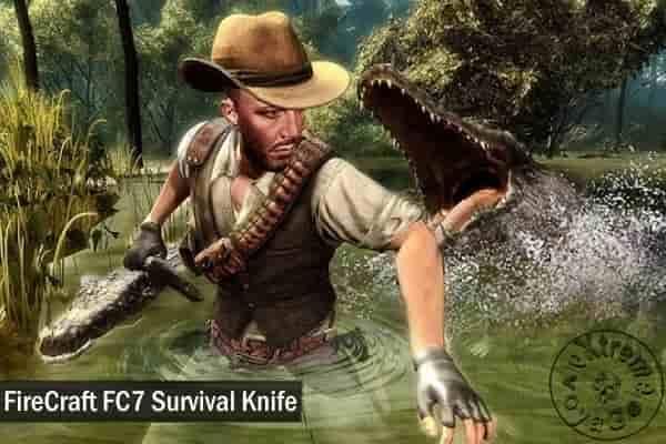 Большой нож для выживания FireCraft FC7 на 3 поколения