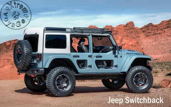 6 новых джипов для ежегодного сафари Easter Jeep Safari