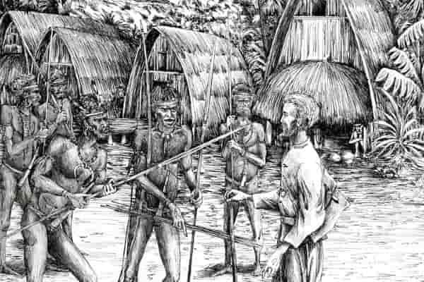 В Папуа-Новой Гвинее укрепили берег Миклухо-Маклая