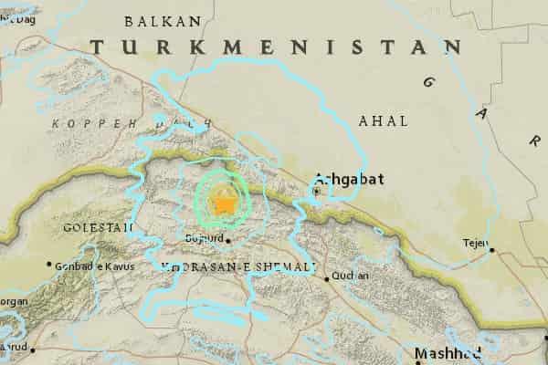 Землетрясение в Иране: более 400 пострадавших