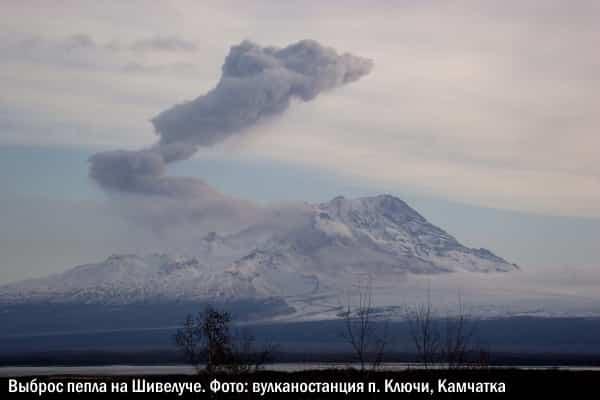 Красный код опасности: вулкан Шивелуч «обстрелял» стратосферу