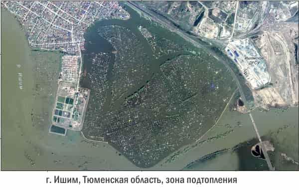 Паводковая ситуация середины мая 2017 в России: сводка