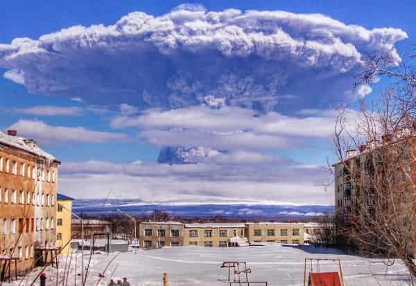 Цветовые уровни опасности вулканов
