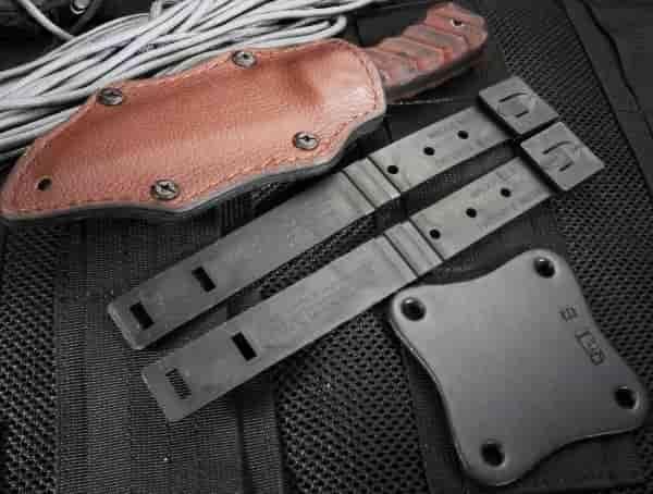 Охотничий нож Blue Ridge Hunter из дамасской стали