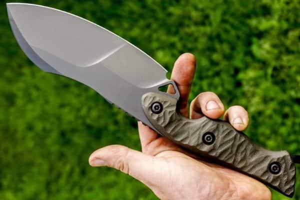 Мощный походный Outdoor-нож FlatHead толщиной 6 мм