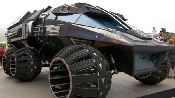 Марсианский внедорожник Mars Rover от NASA: видео