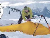Гибридная лавинная лопата Hybrid Pro с зондом и убежищем