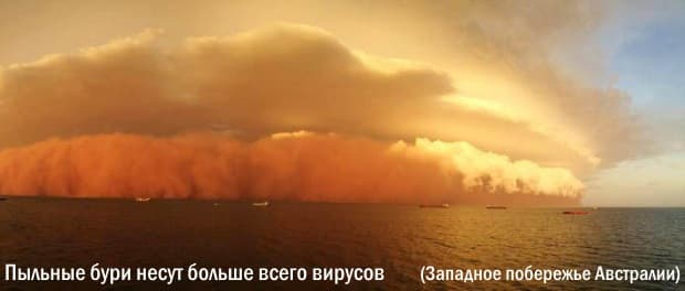 Вирусные дожди постоянно атакуют нашу планету из стратосферы