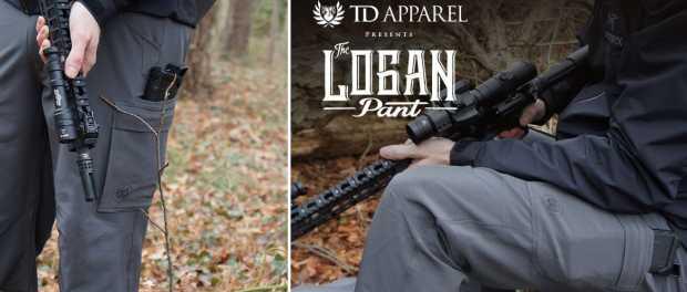 Прочные водостойкие брюки TD Logan Pant для охоты и города