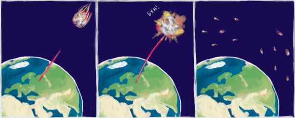 В России получен метод уничтожения опасных астероидов